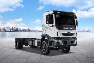 Xe tải trung Daewoo Maximus HC6AA – Người Hùng Thế Hệ Mới
