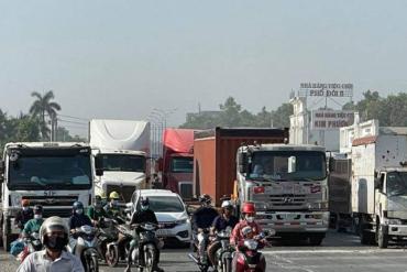 Bình Dương cấm xe đầu kéo, xe tải nặng trên nhiều tuyến đường huyết mạch