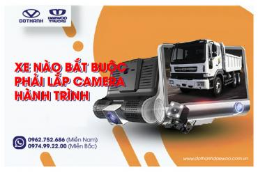 Xe nào bắt buộc phải lắp camera hành trình trước 01/07/2021?