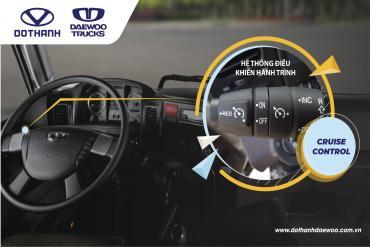 Tìm hiểu Cruise Control và chức năng hệ thống này trên xe Daewoo HC8AA