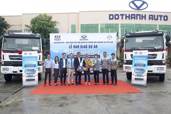 Dothanh Auto bàn giao dự án 30 xe đầu kéo Daewoo