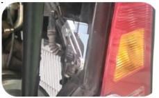 Công tắc an toàn: không thể khởi động khi nắp động cơ đang mở