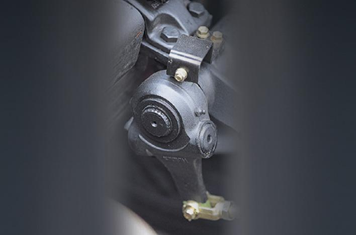 Hệ thống phanh tự động điều chỉnh khe hở ( tuỳ chọn )