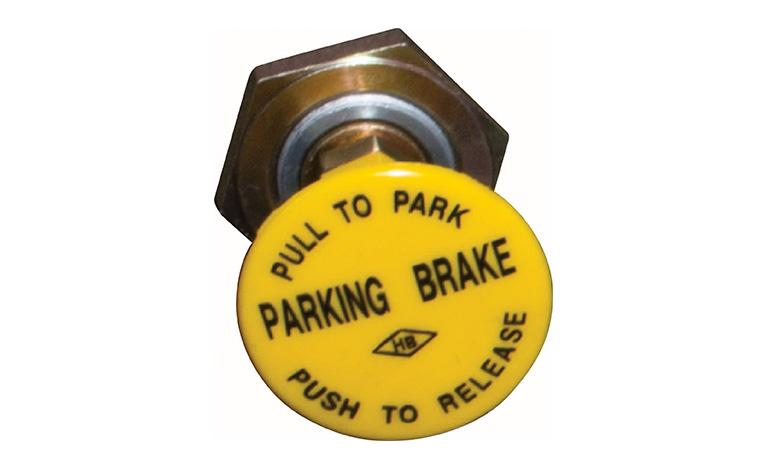 Parking brake: on/off type  (standard), option