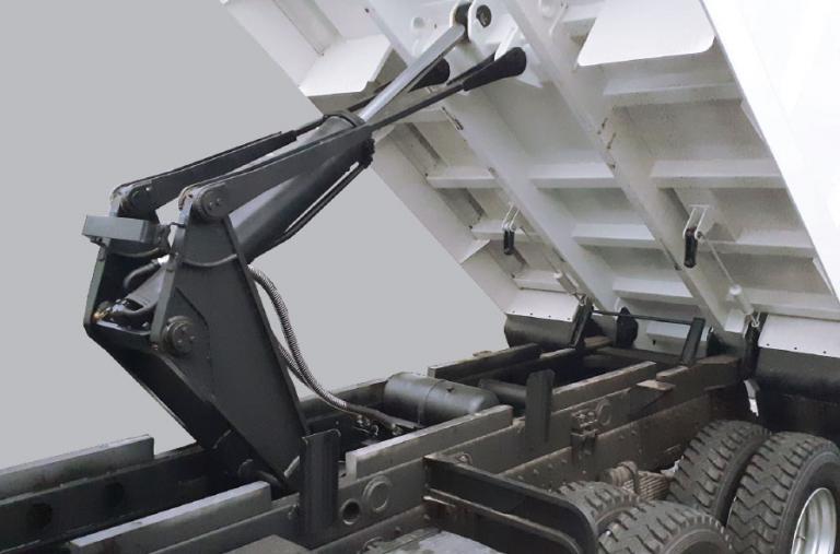 Cơ cấu nâng hạ cứng cáp + Có thanh trống an toàn